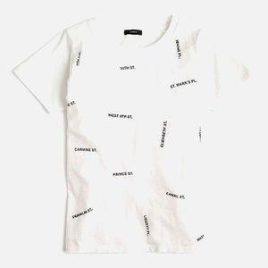 J.Crew New York T-Shirt, Size XS